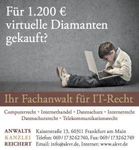 Rechtsanwalt Reichert IT-Recht Frankfurt